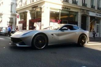 Benzema's new car