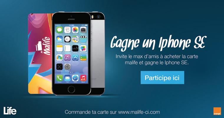 Gagne un Iphone SE