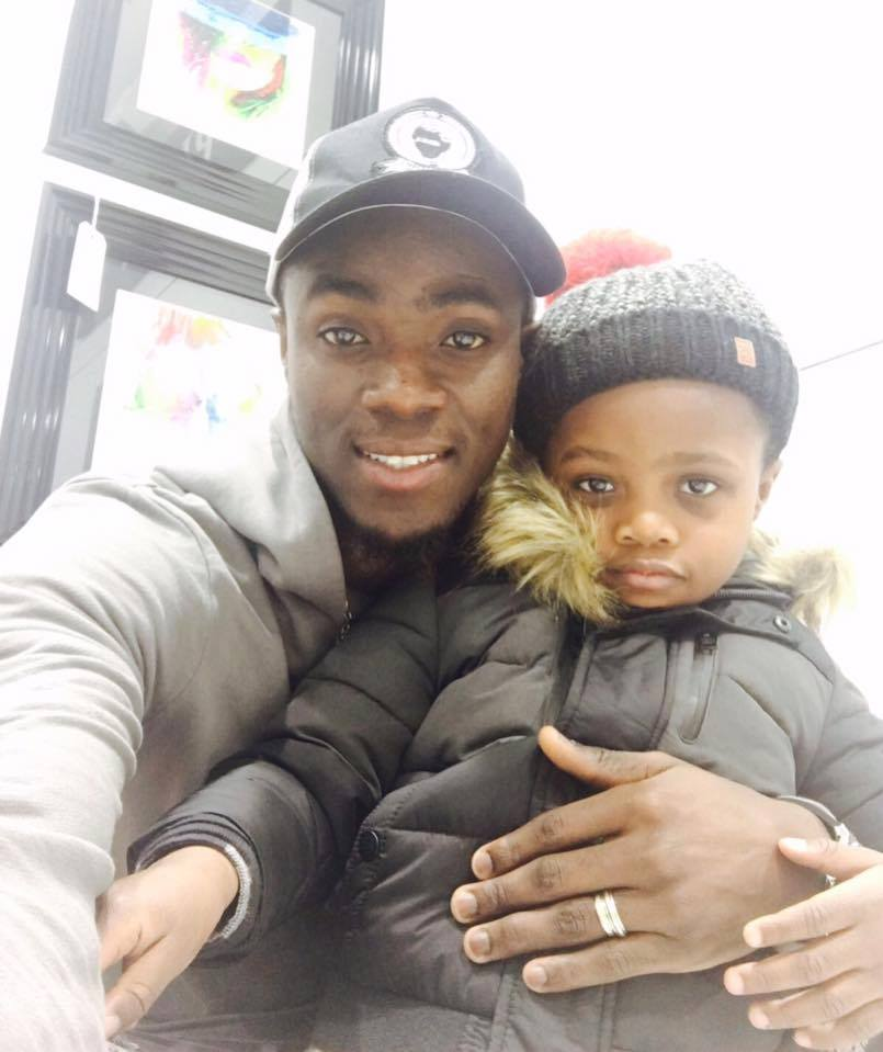 eric bailly et son fils
