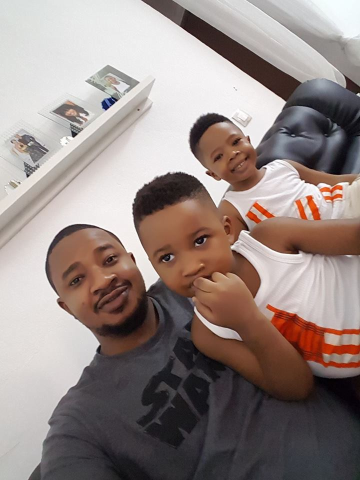 eric sekongo et ses enfants
