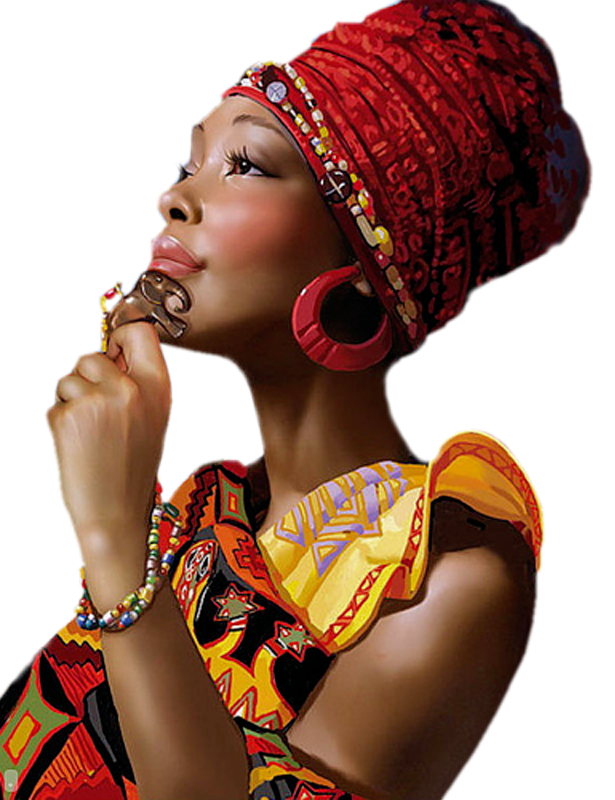 Image femme noire africaine