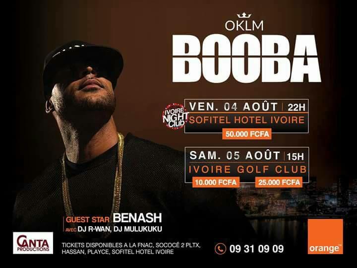 booba concert