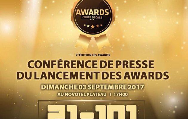 awards coupé-décalé 2017