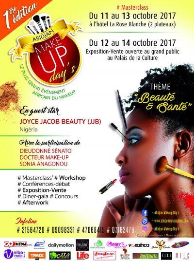 reduitAffiche Abidjan Makeup DaysNouveau