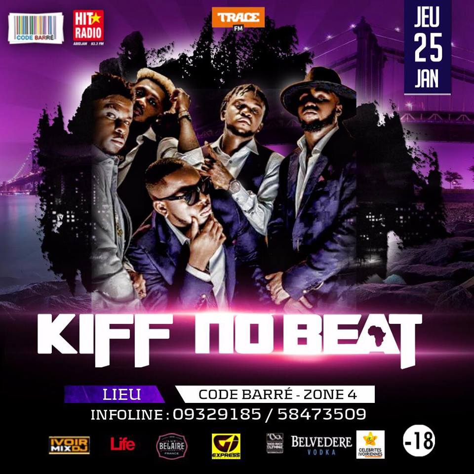 Kiff no beat en showcase au code barr ce 25 janvier for Album de kiff no beat