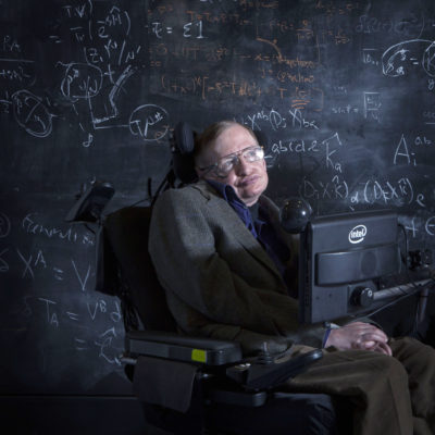 Mandatory Credit: Photo by REX/Shutterstock (4451661a) Professor Stephen Hawking Professor Stephen Hawking at the Centre of Applied Maths and Theoretical Physics, Oxford, Britain - 12 Apr 2013