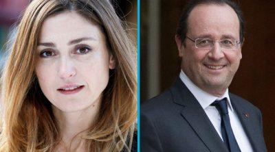 Julie-Gayet et Francois-Hollande. Life Mag