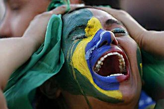Brésil VS Allemagne. Life Mag