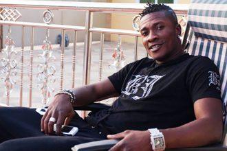 Asamoah-Gyan. Life Mag