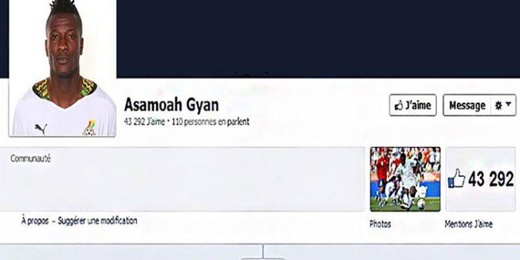 Asamoah Gyan. Life Mag