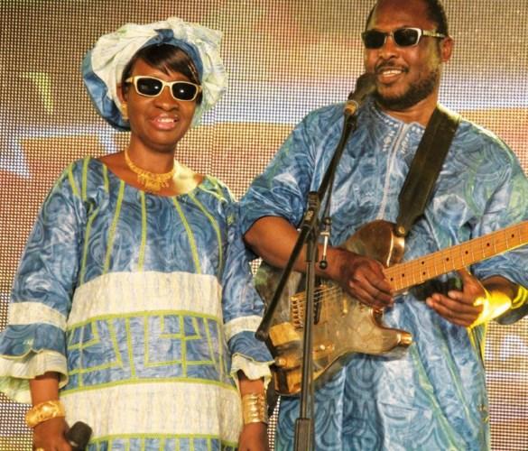 Amadou et Mariam ont donné une prestation très appréciée.