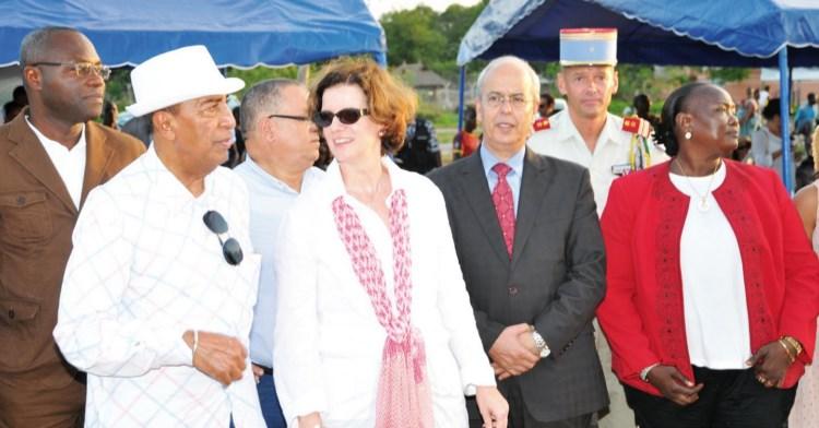 L'ambassadeur Georges Ouégnin et quelques diplomates apprécient…
