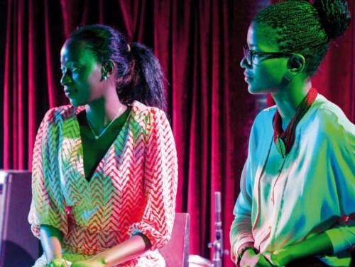 Doris Bello, assistante chef projetmannequin et Eline Arnaud, fondatrice d'une entreprise artisanale et RP.