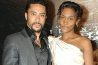majid+michel+wife
