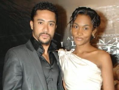 majid+michel+wife