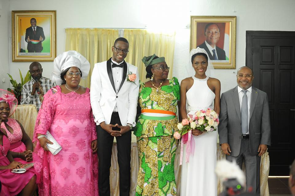 miss côte d'ivoire 2012 mariage