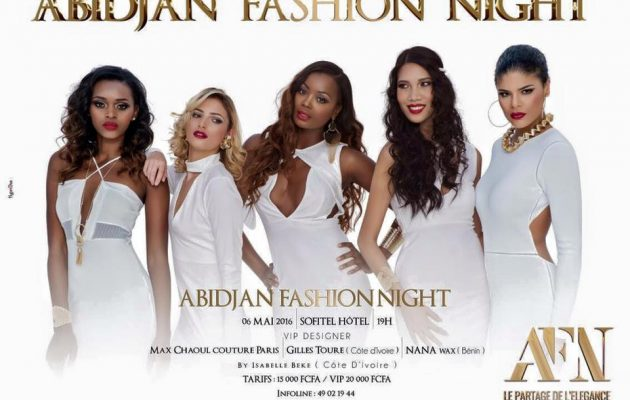 abidjan fashion night show