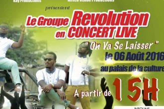 révolution concert