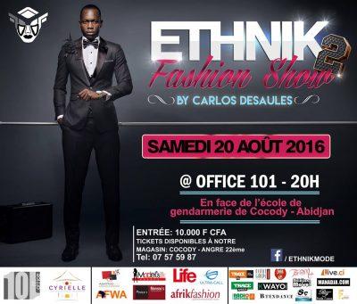 ethnik fashion show