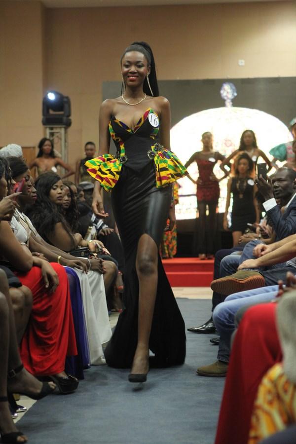 Gbané Mandjalia pour son second défilé