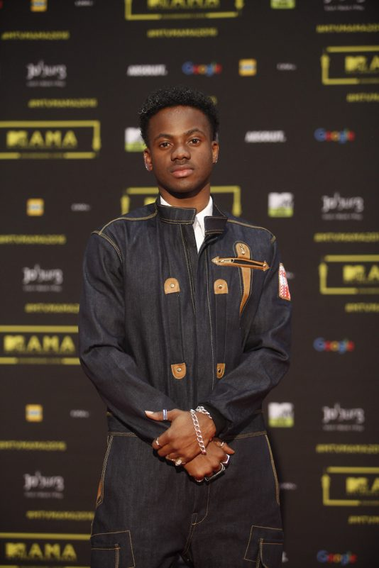 Le chanteur nigerian Korede Bello