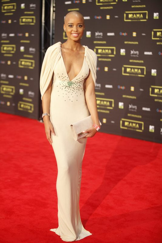 L'actrice sud africaine Ntando Duma