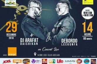 Arafat & debordo concert