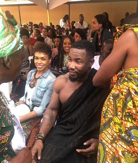 """Résultat de recherche d'images pour """"Michael Jai White devient roi au Ghana"""""""