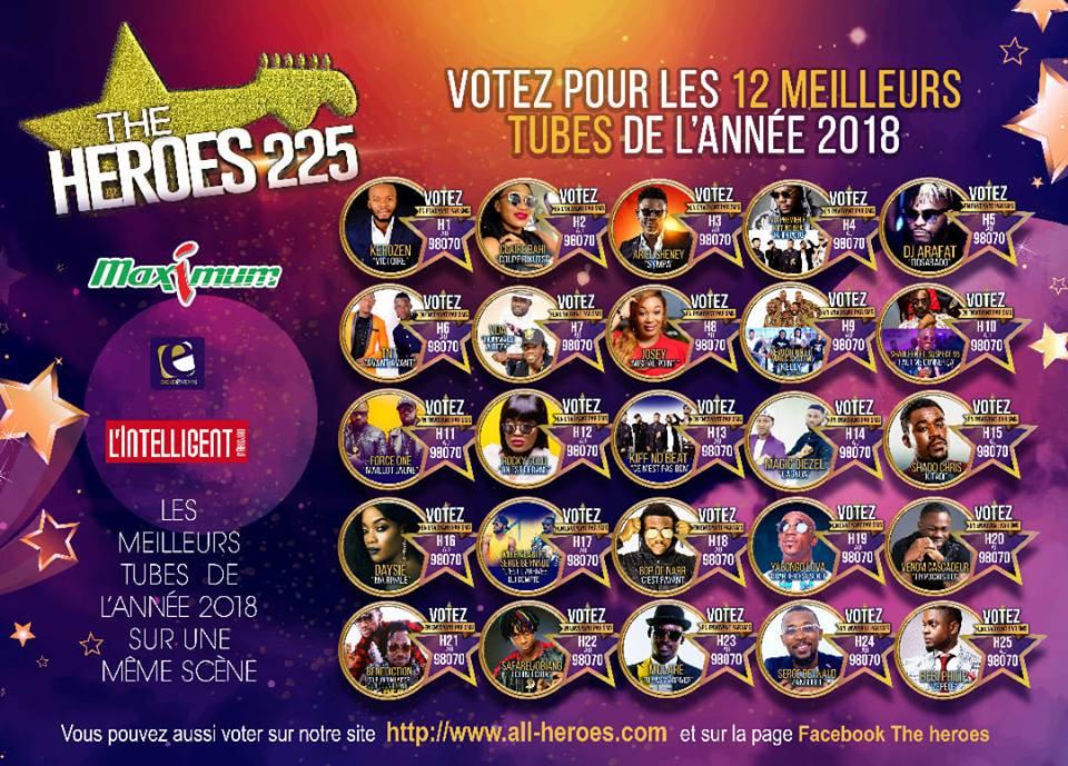 HEROES 12 TUBES