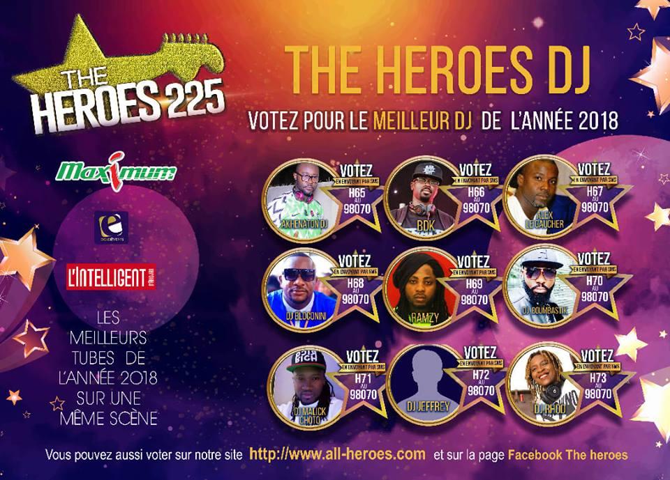 HEROES DJ