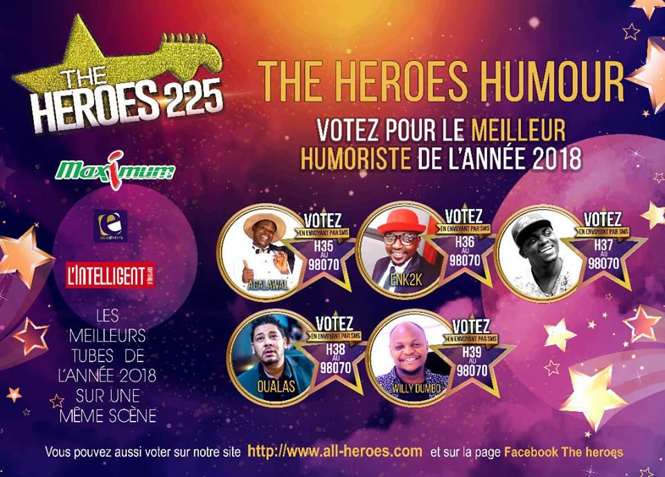 HEROES HUMOUR