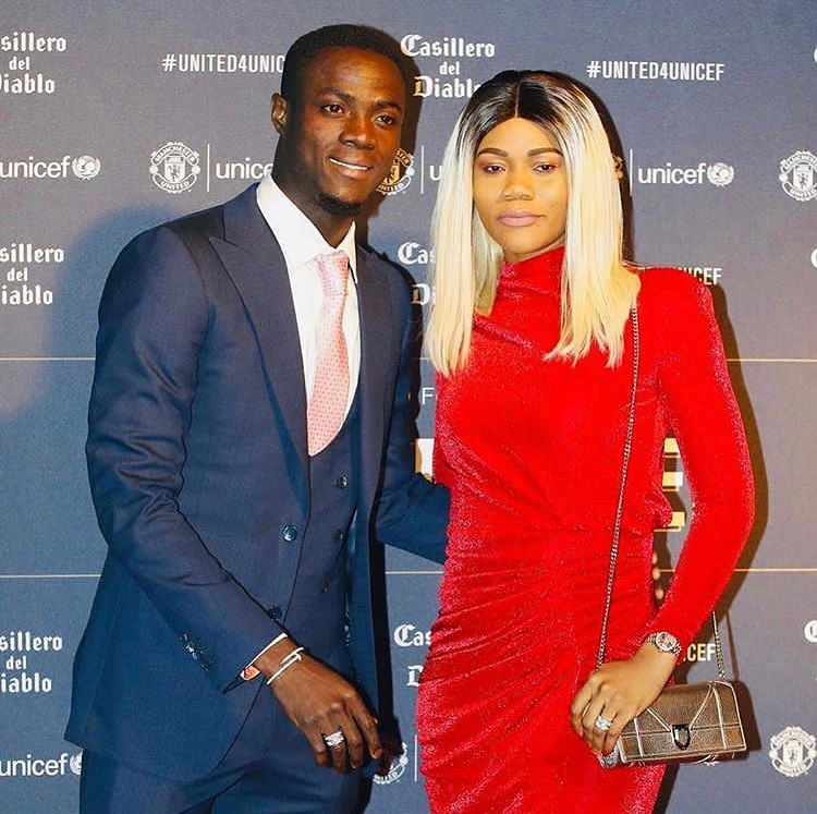 couple eric bailly