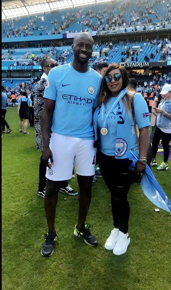 couple yaya touré