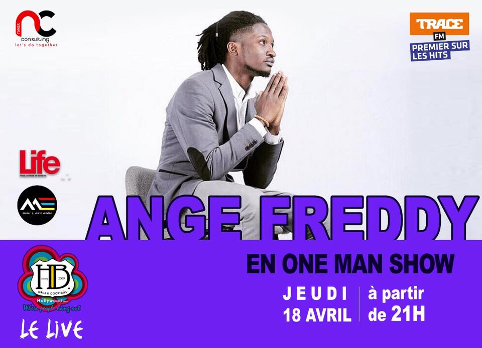Ange Freddy one man show