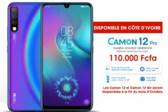 TECNO_Visuel de disponiblité_Camon 12