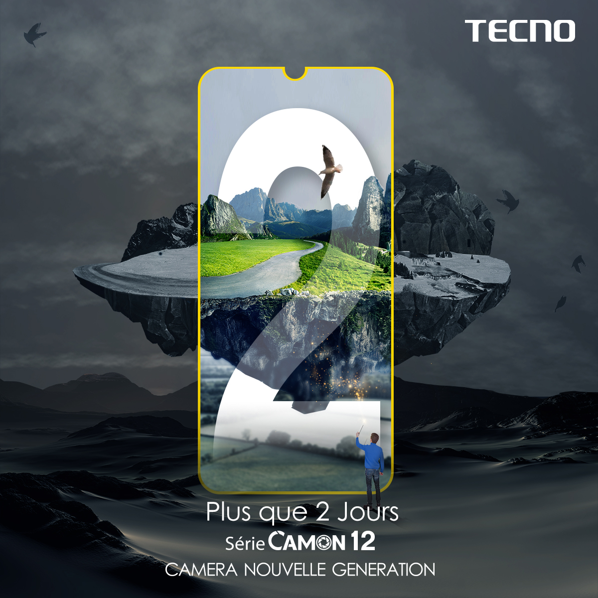 Tecno Camon 12 Countdown2