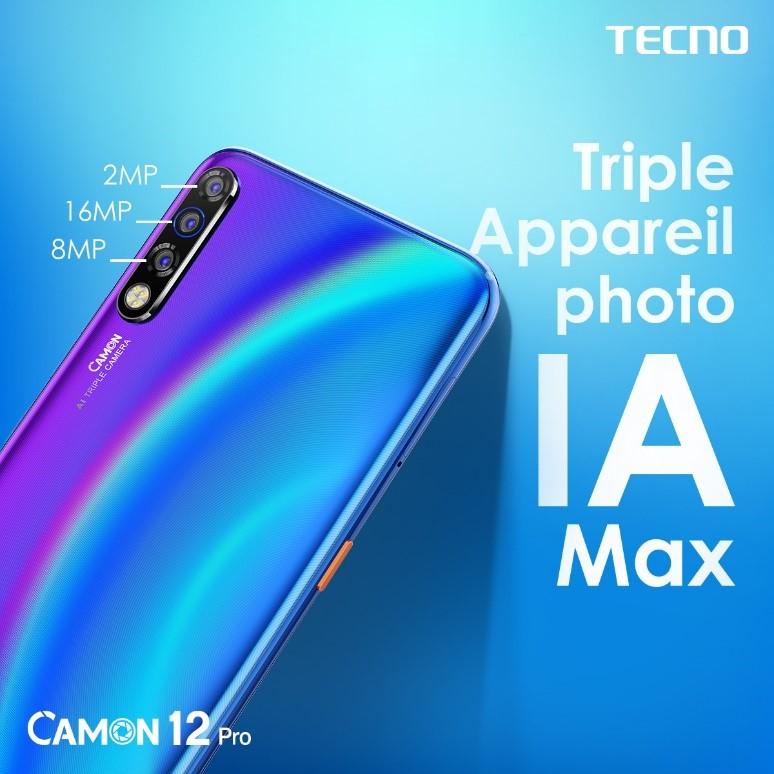 Triple appareil photo IA