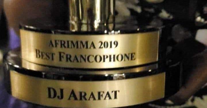 Dj Arafat remporte le Prix du Meilleur artiste francophone aux AFRIMMA 2019