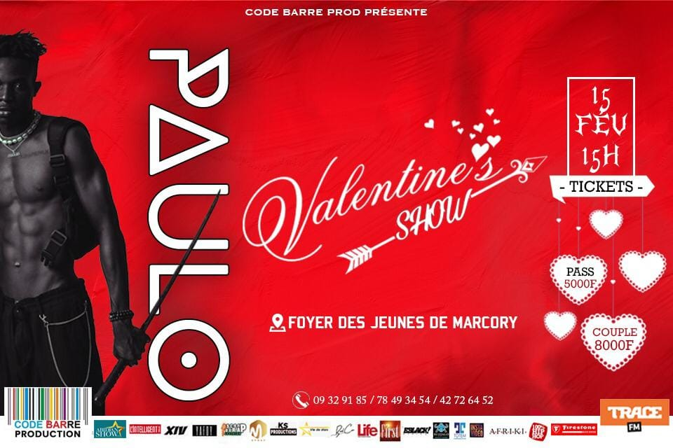 paulo valentine's show