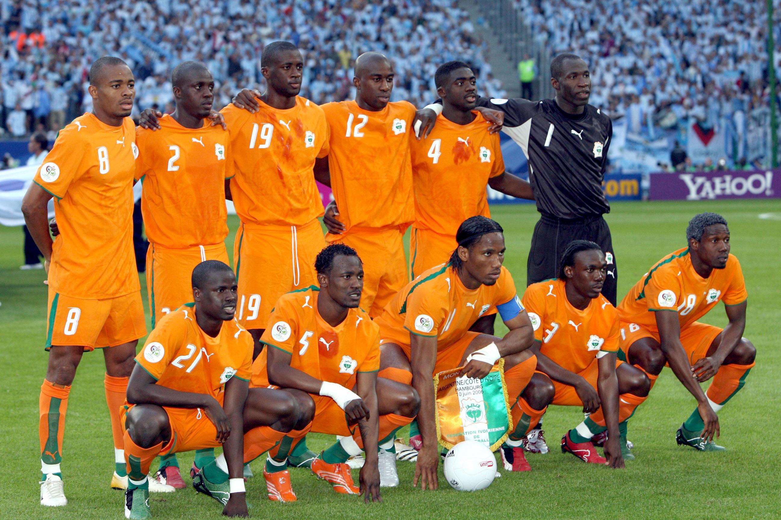 Equipe -10.06.2006 - Argentine / Cote d'Ivoire - Coupe du Monde 2006