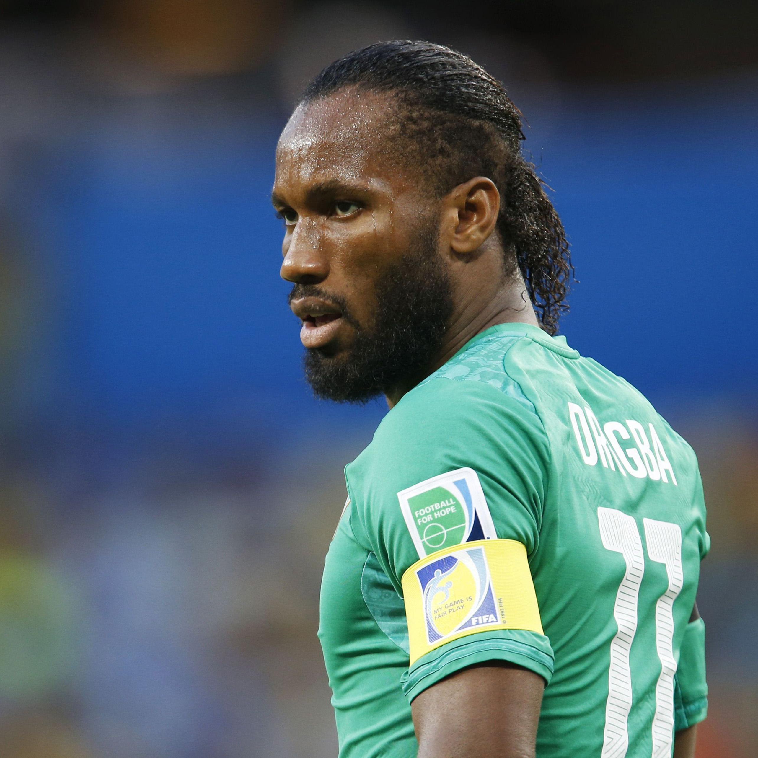 Ivory Coast's Didier Drogba