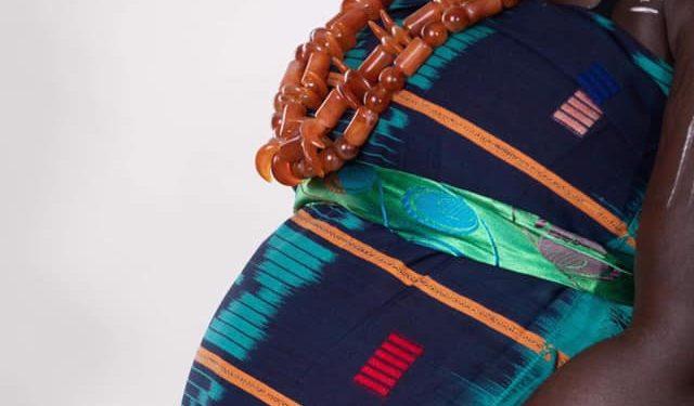 femme baoulé enceinte