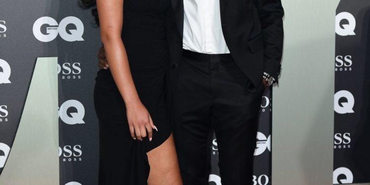 wilfried zaha et sa femme