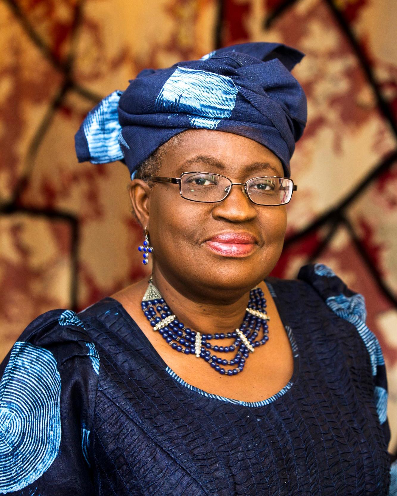 Ngozi Okonjo-Iweala (Nigeria),  ministre de l'Economie et des Finances. Au Forum sur le partenariat entre l'Afrique et la France à Bercy le 06.02.2015. © Bruno Levy