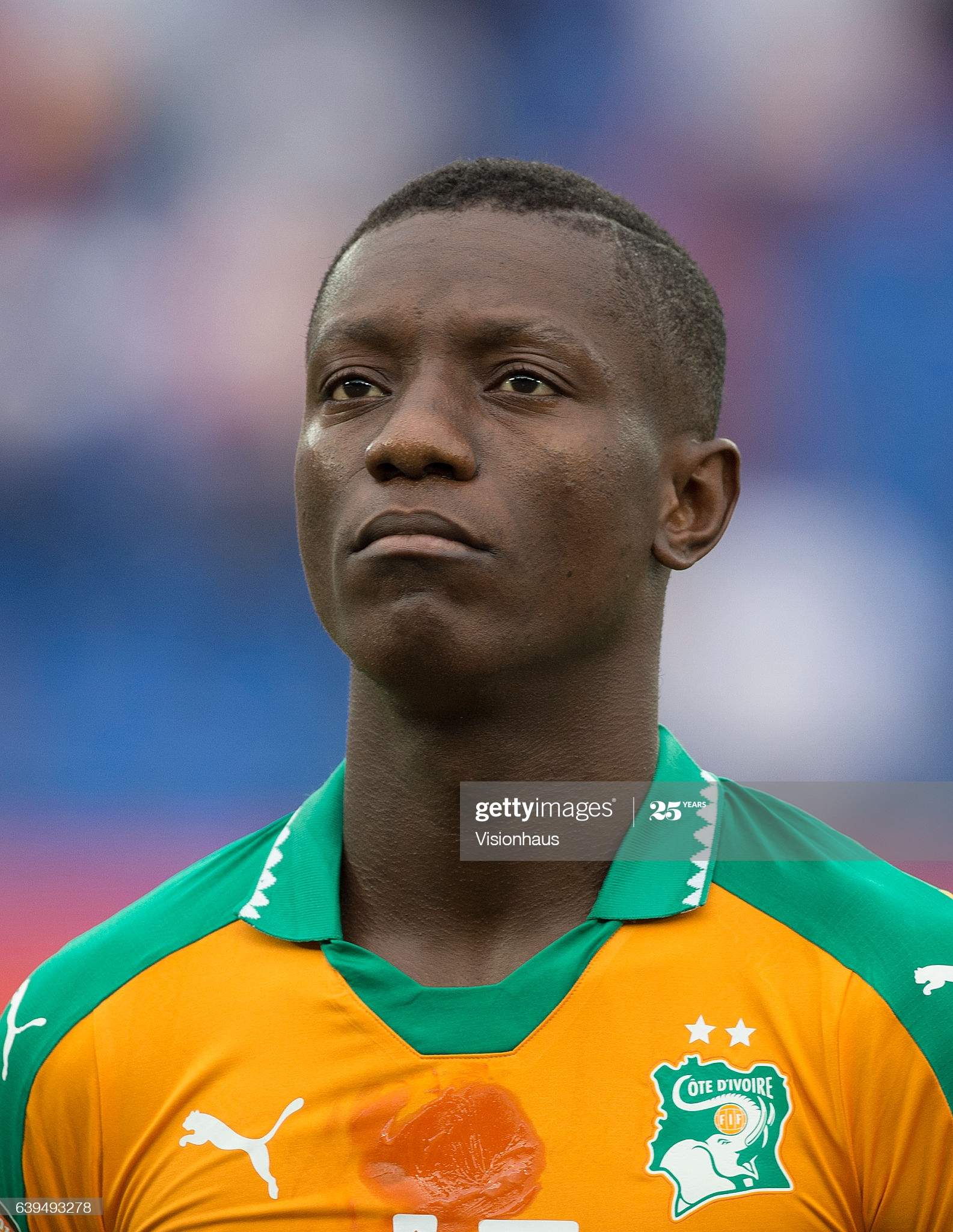 OYEM, GABON - JANUARY 20: MAX ALAIN GRADEL of Ivory Coast during the Group C match between Ivory Coast and DR Congo at Stade Oyem on January 20, 2017 in Oyem, Gabon. (Photo by Visionhaus/Corbis via Getty Images)