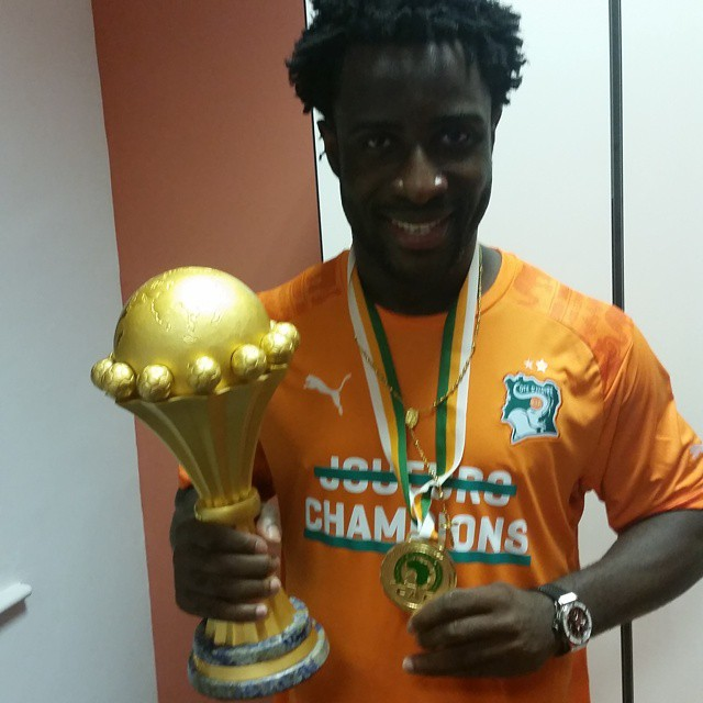wilfried bony champion d'afrique
