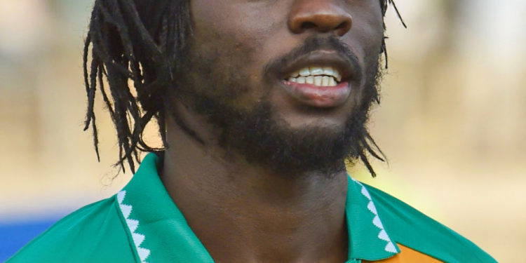 Ivory Coast's Gervais Yao Kouassi Gervinho poses ahead of the FIFA 2018 World Cup qualification football match between Ivory Coast and Gabon at The Stade la Paix in Bouaké on September 5, 2017.  / AFP PHOTO / ISSOUF SANOGO        (Photo credit should read ISSOUF SANOGO/AFP via Getty Images)