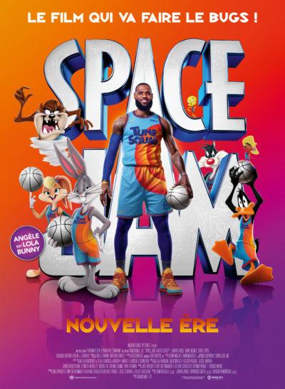 Affiche Définitive - Space Jam - Nouvelle Ere